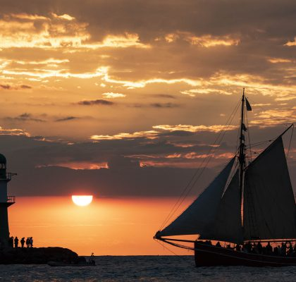 Hanse Sail 2018_Sunset Warnemünde_Lutz Zimmermann