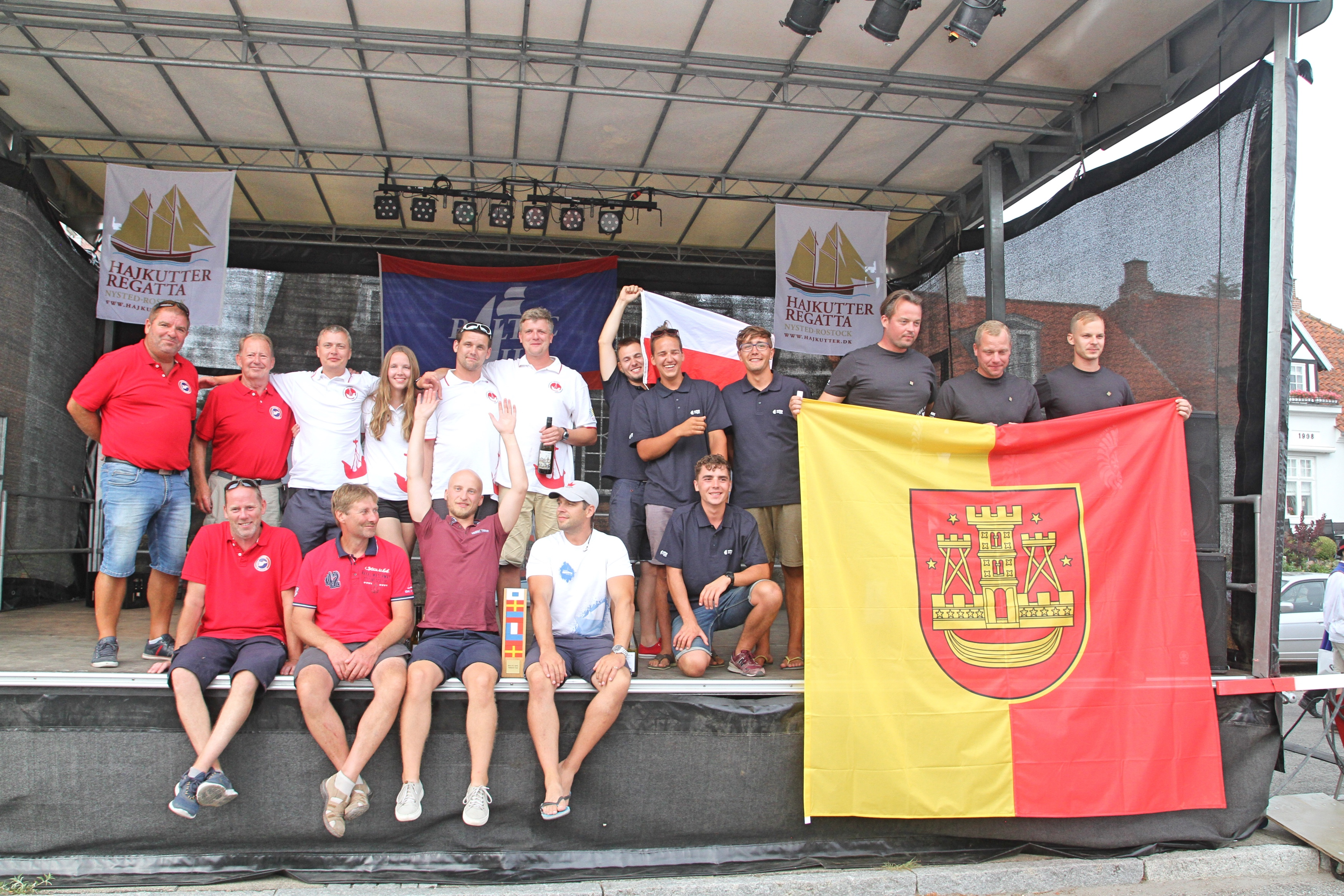 Hajkutter Festival & Regatta_Baltic Sail Nations Cup Nysted_04082018 (photo: Dirk Behm)