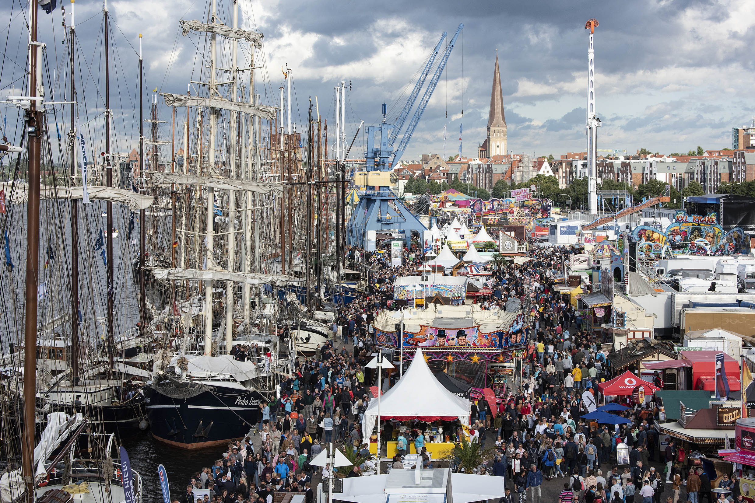 Hanse Sail 2018_Rostock city harbour_Lutz Zimmermann
