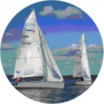 Baltic Sail Nations Cup logotype round
