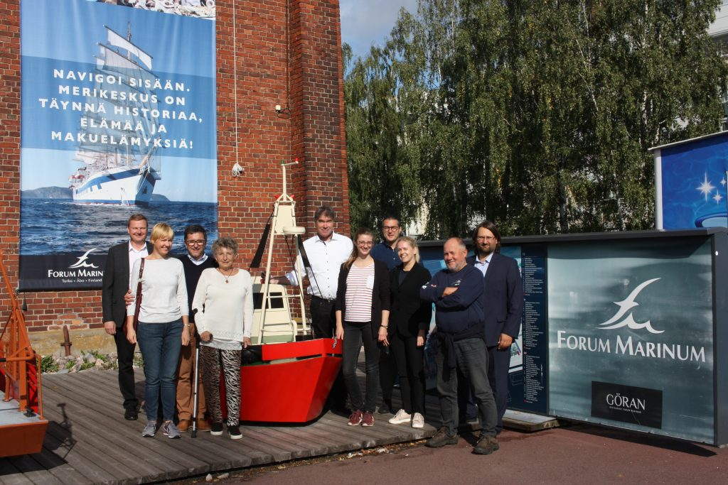 Baltic Sail partners group photo