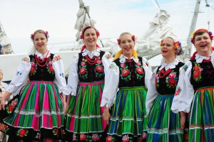 Get to know other cultures - like here in Klaipeda. (photo: Hanse Sail / Lutz Zimmermann
